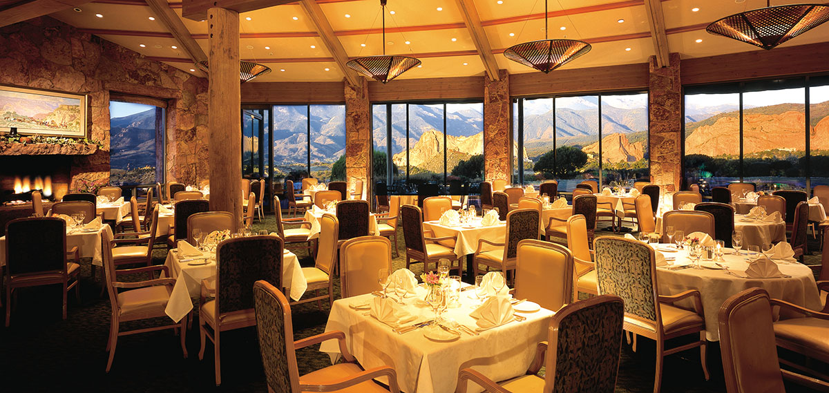 Dining:      Garden of the Gods Club and Resort  in Colorado Springs
