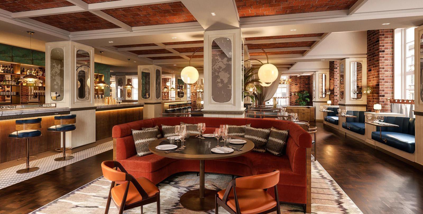 Image of Dining Room at Brasserie at Villa Copenhagen, 1912, Member of Historic Hotels Worldwide, in Copenhagen, Denmark, Taste