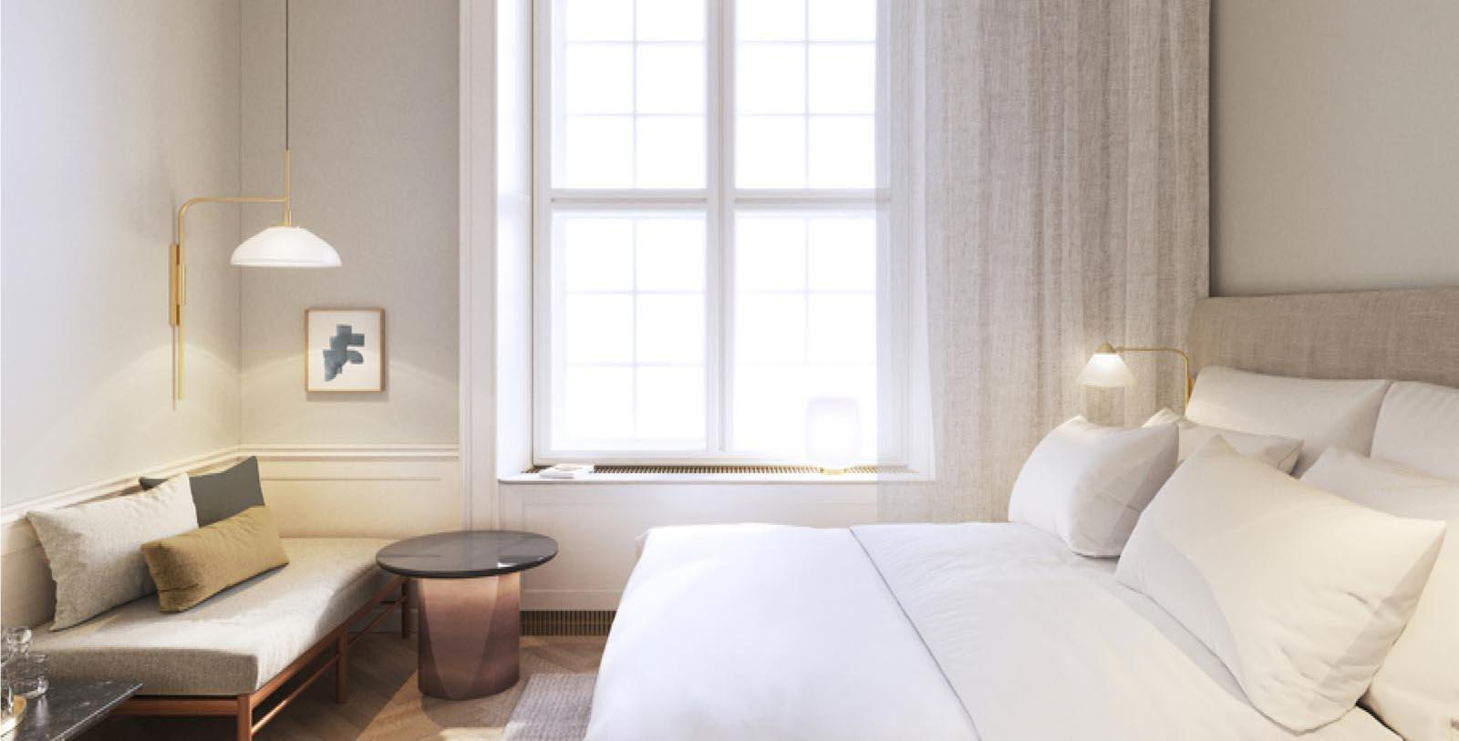 Image of Guestroom at Villa Copenhagen, 1912, Member of Historic Hotels Worldwide, in Copenhagen, Denmark, Location Map