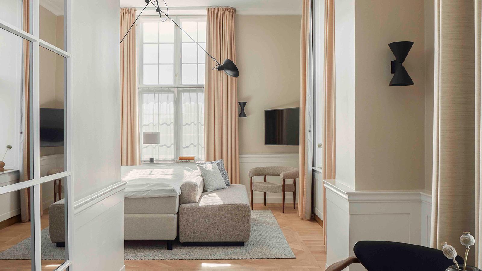 Image of Guestroom at Villa Copenhagen, 1912, Member of Historic Hotels Worldwide, in Copenhagen, Denmark, Accommodations