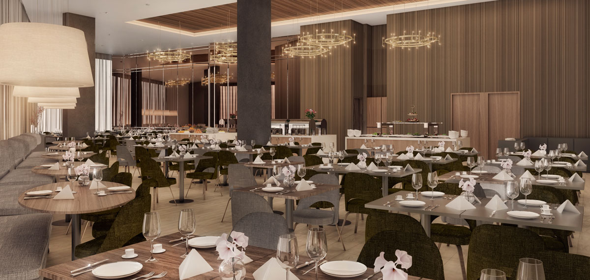Dining:      Royal Palm Tower  in Campinas