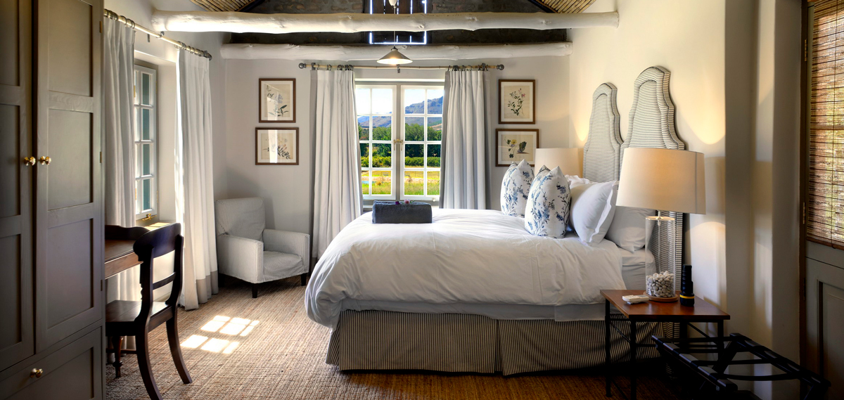 Accommodations:      Boschendal Farm Luxury Accommodation  in Franschhoek