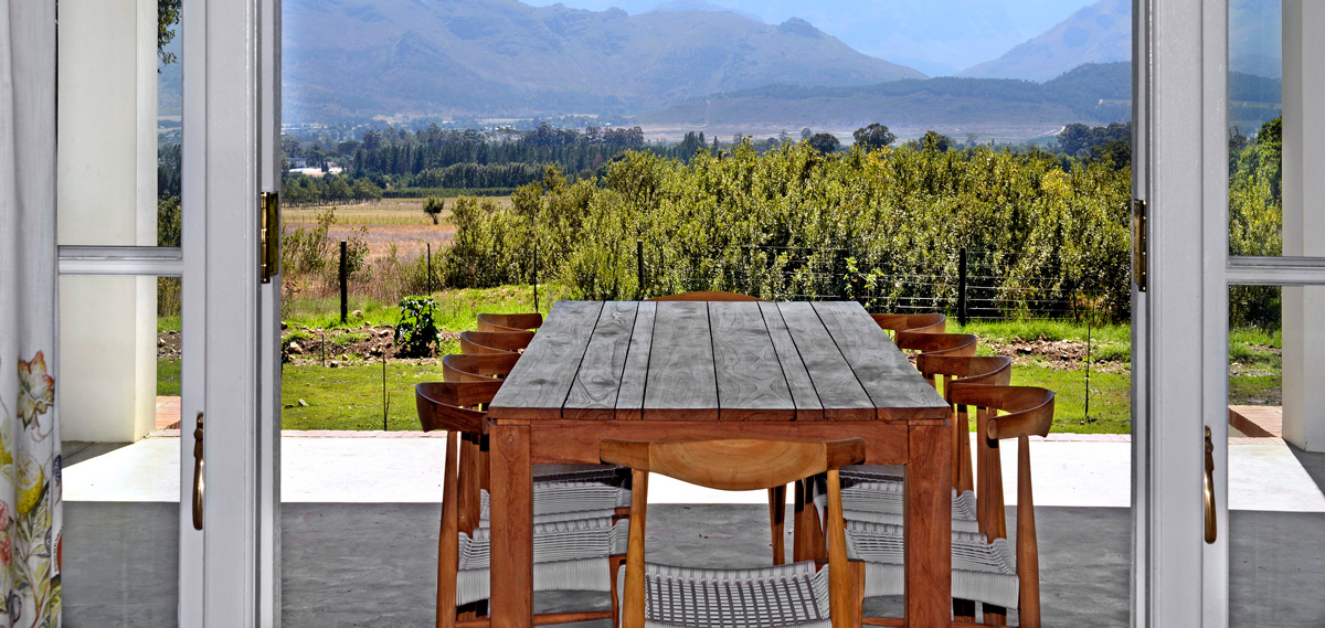 Special Offers:      Boschendal Farm Luxury Accommodation  in Franschhoek