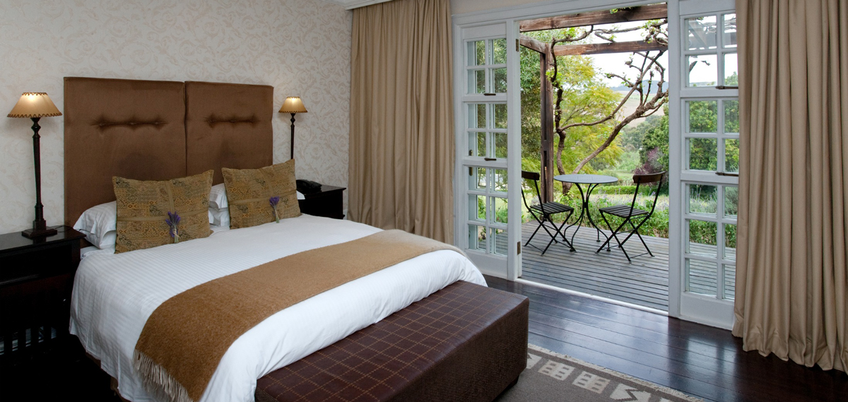 Accommodations:      The Devon Valley Hotel  in Stellenbosch