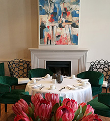 Dining at      Erinvale Estate Hotel & Spa  in Somerset West