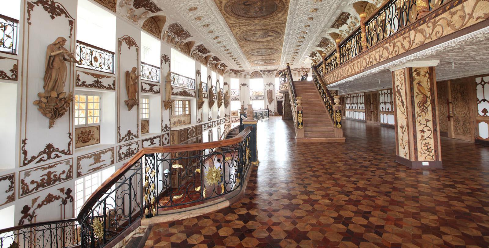 Image of Grand Staircase Las Casas Filipinas de Acuzar, 1787, Member of Historic Hotels Worldwide, in Bagac, Philippines, Discover