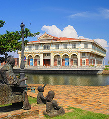 Meetings at      Las Casas Filipinas de Acuzar  in Bagac