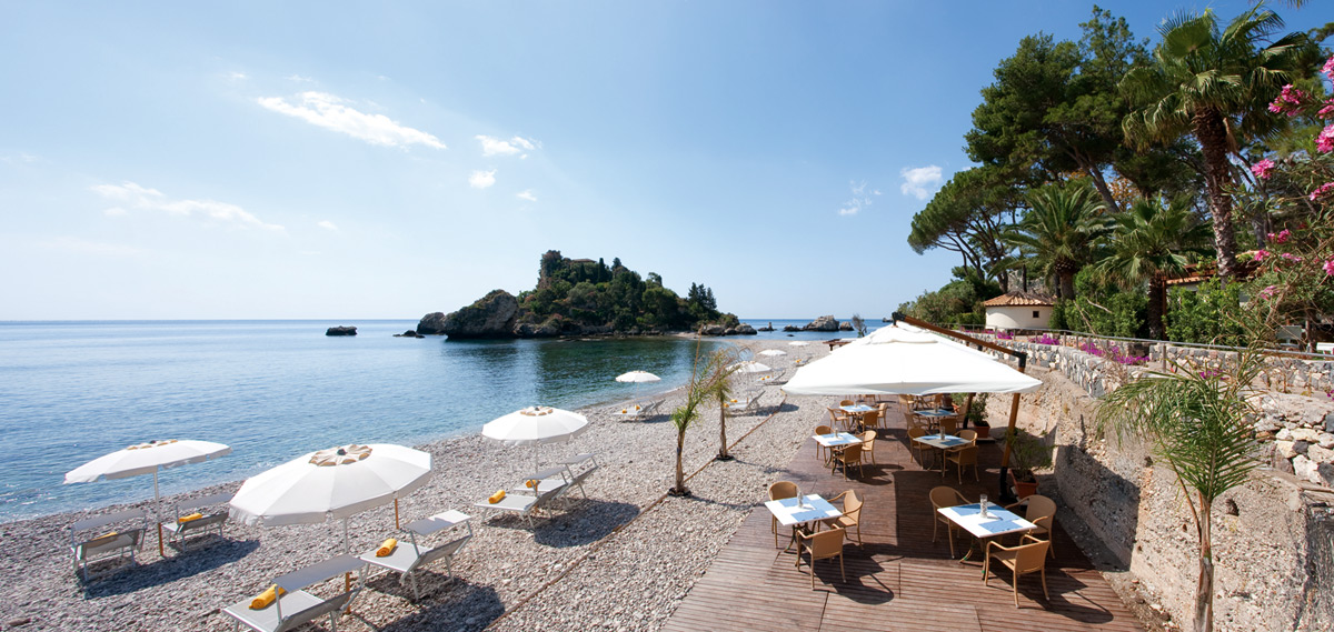 Activities:      La Plage Resort  in Taormina