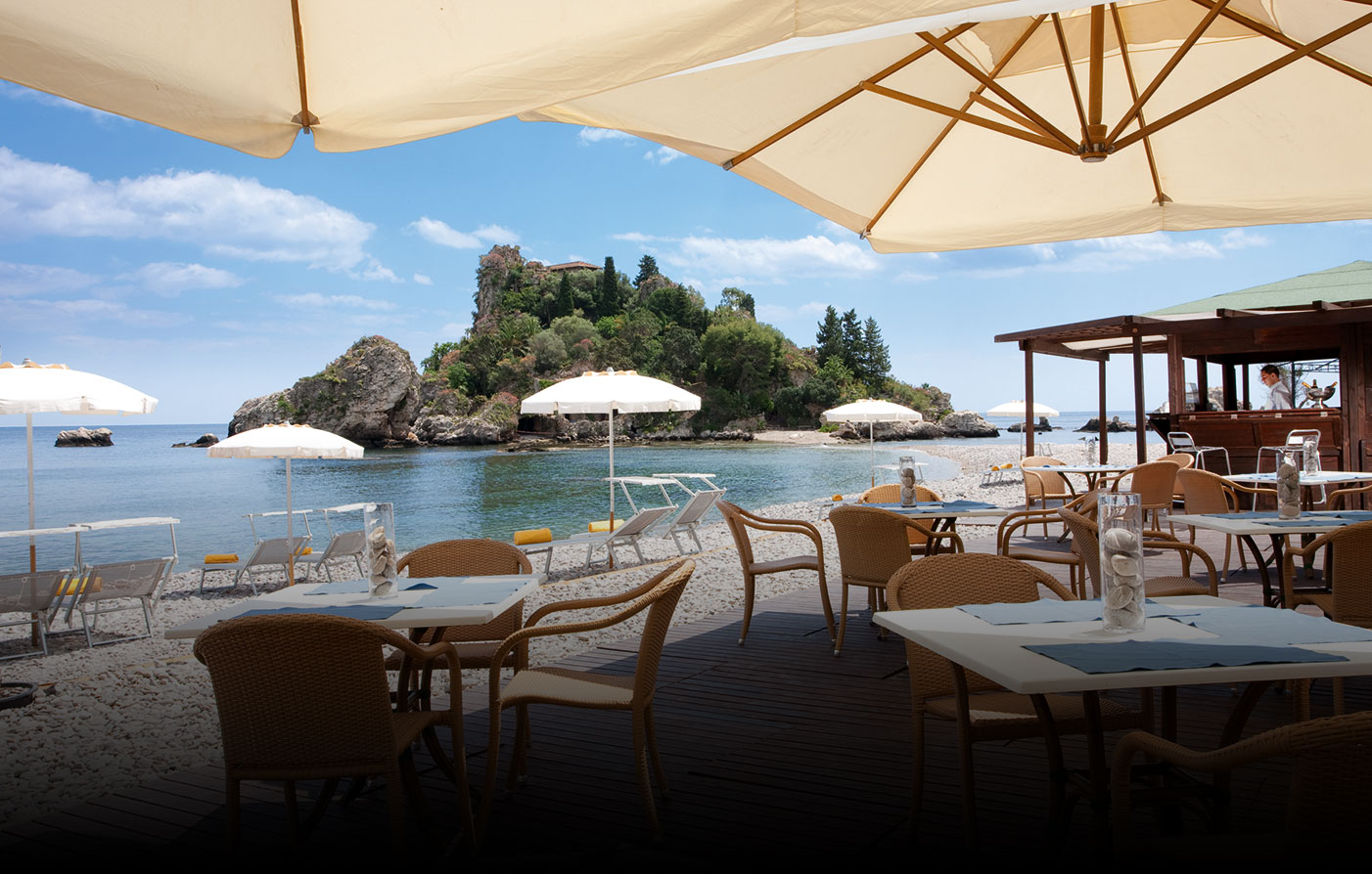 Special Offers:      La Plage Resort  in Taormina