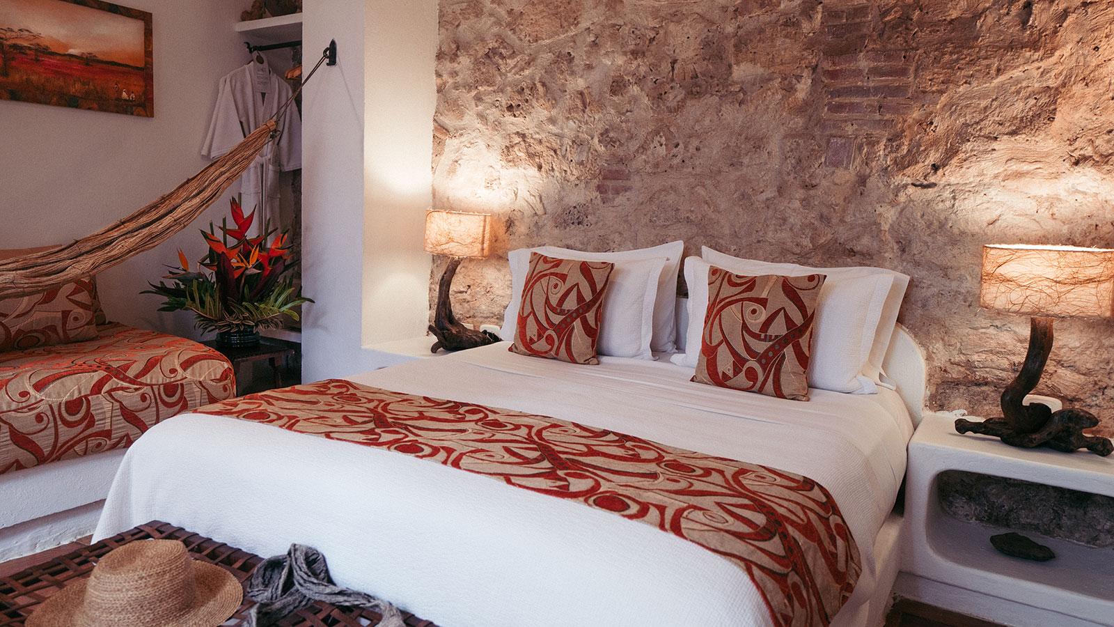 Image of guestroom Alfiz Hotel, 1700, Member of Historic Hotels Worldwide, in Cartagena de Indias, Colombia,Accommodations