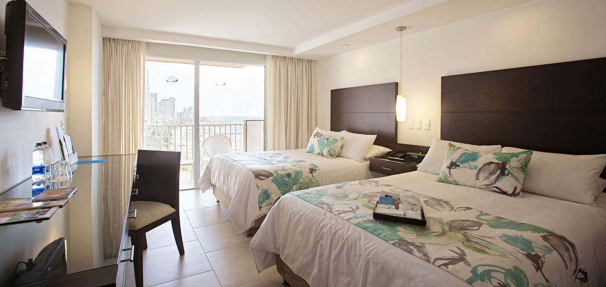 Accommodations:      Hotel Capilla del Mar  in Cartagena de Indias
