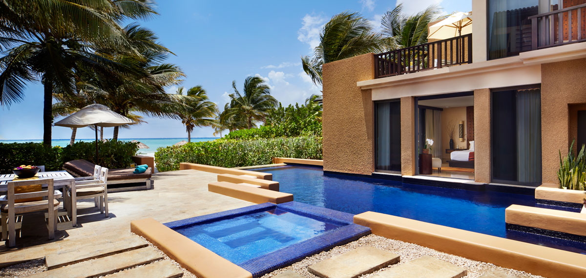 Accommodations:      Banyan Tree Mayakoba  in Playa del Carmen