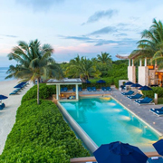 Book a stay with Banyan Tree Mayakoba in Playa del Carmen