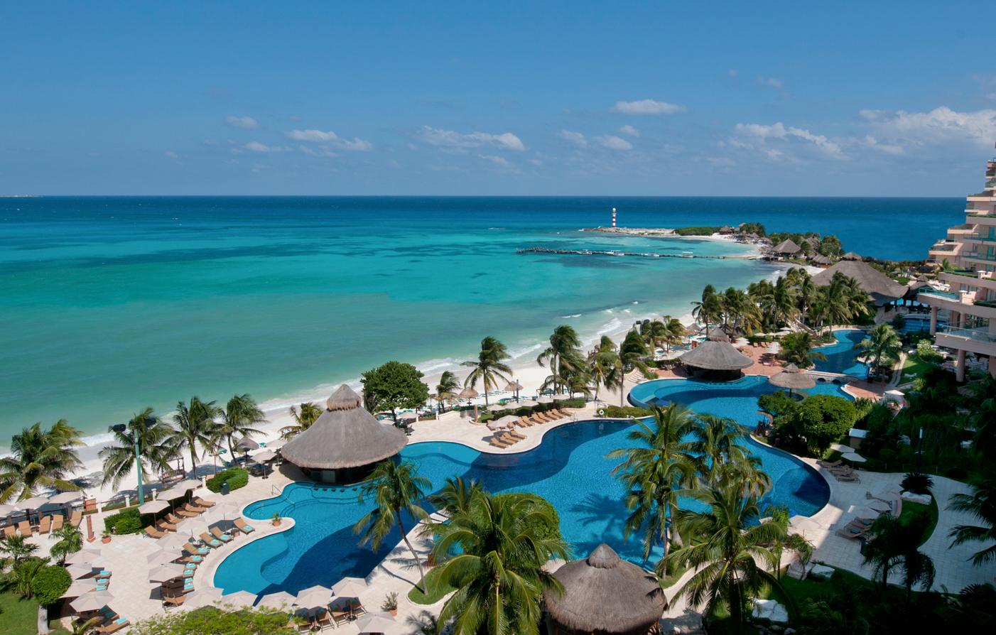 hotels mexico cancun fiesta americana grand coral beach resort hotel