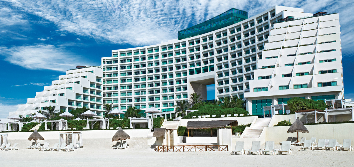 live aqua cancun all inclusive adults only, cancun mexico, hotel exterior