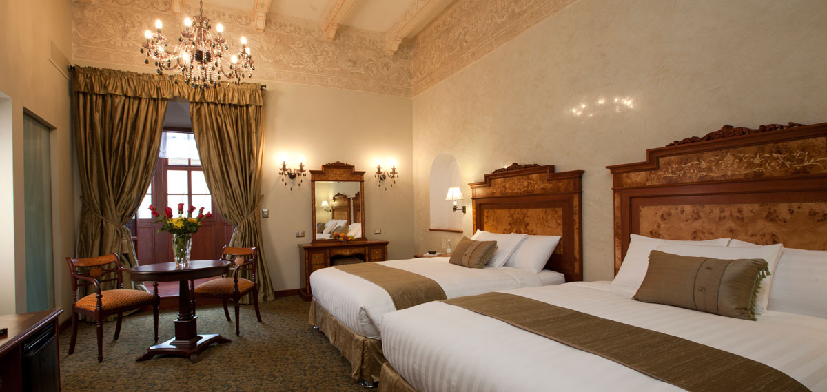Accommodations:      Aranwa Cusco Boutique Hotel  in Cusco
