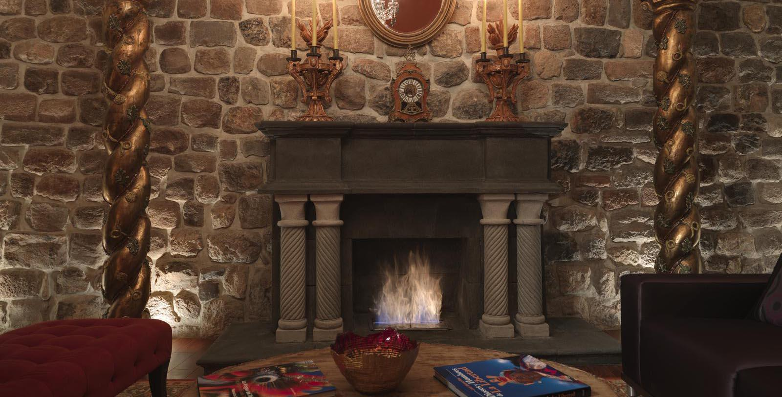 Image of guestroom fireplace Aranwa Cusco Boutique Hotel, 1560, Member of Historic Hotels Worldwide, in Cusco, Peru, Location Map