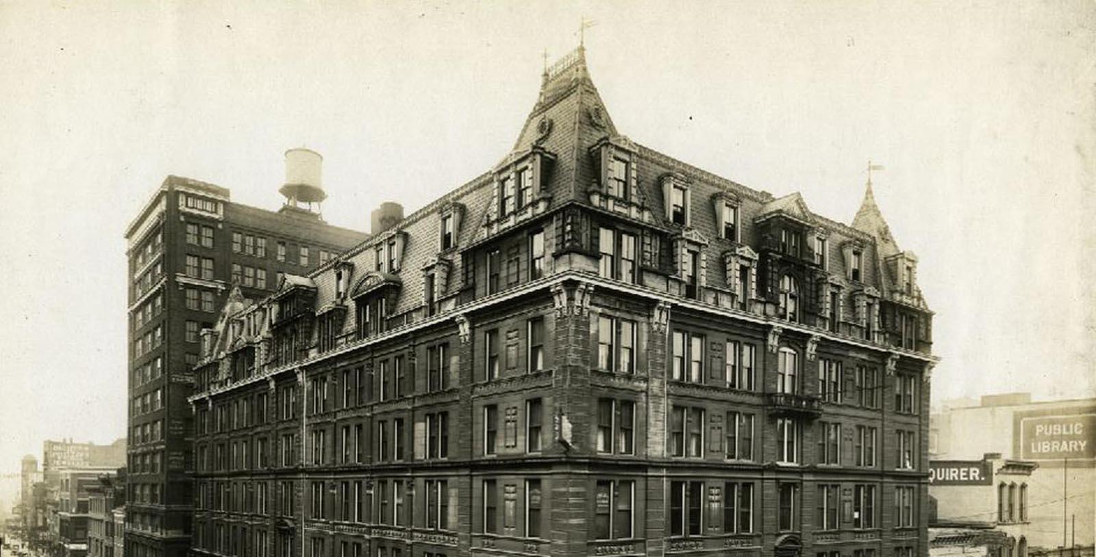 Historic Image of The Cincinnatian Hotel, 1882, Member of Historic Hotels of America, in Cincinnati, Ohio, Discover