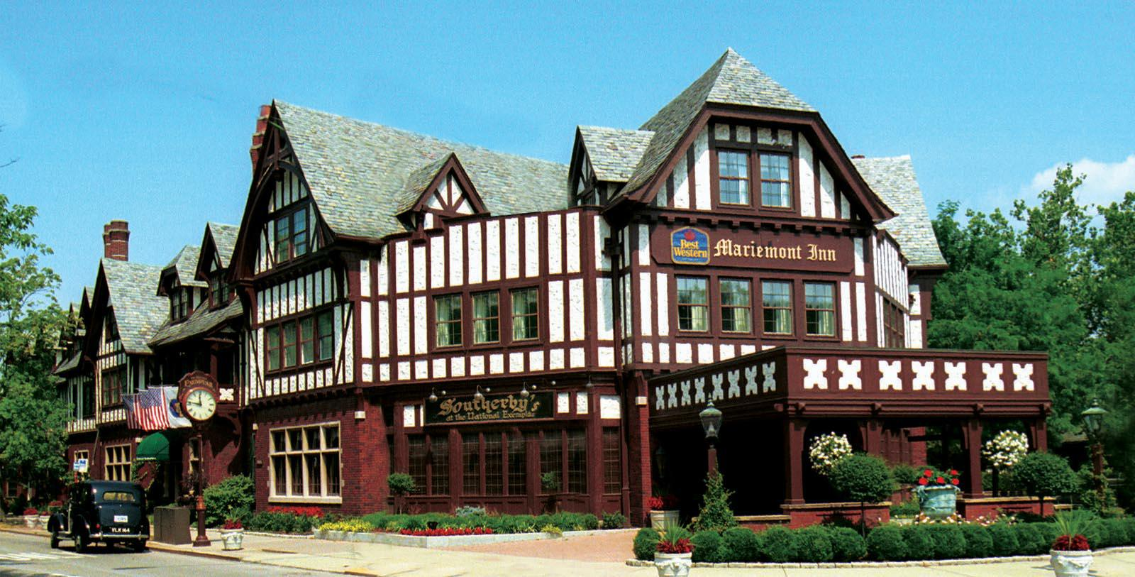Image of Hotel Exterior at Best Western Mariemont Inn, 1926, Member of Historic Hotels of America, in Cincinnati, Ohio, Overview