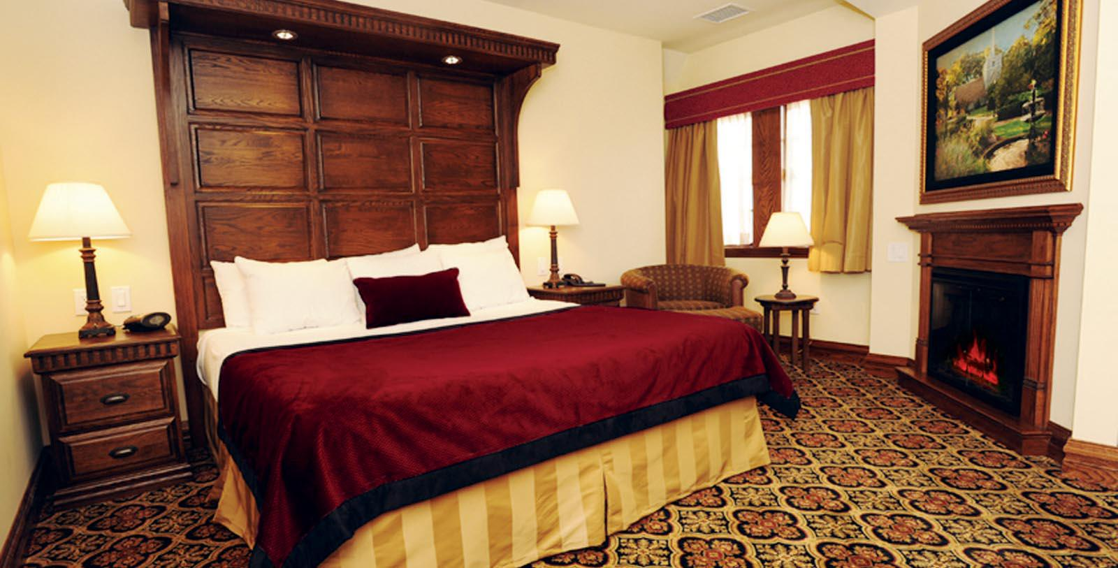 Image of Guestroom at Best Western Mariemont Inn, 1926, Member of Historic Hotels of America, in Cincinnati, Ohio, Location Map