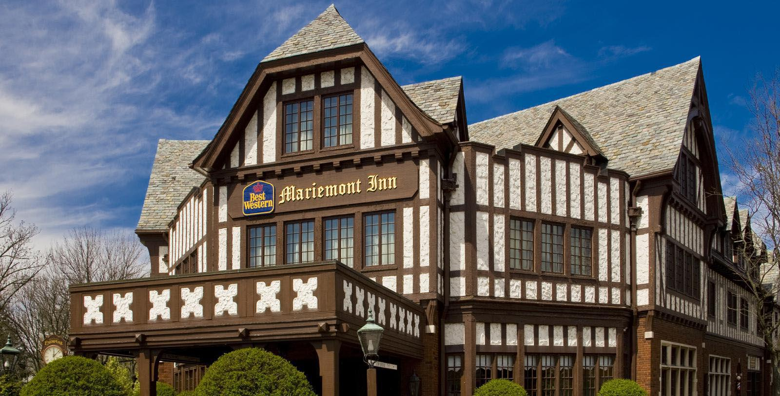 Image of hotel exterior at Best Western Mariemont Inn, 1926, Member of Historic Hotels of America, in Cincinnati, Ohio, Hot Deals
