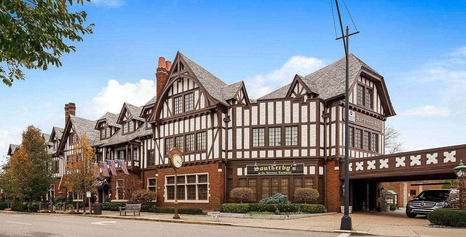 Image of Hotel Exterior at Best Western Mariemont Inn, 1926, Member of Historic Hotels of America, in Cincinnati, Ohio, Overview