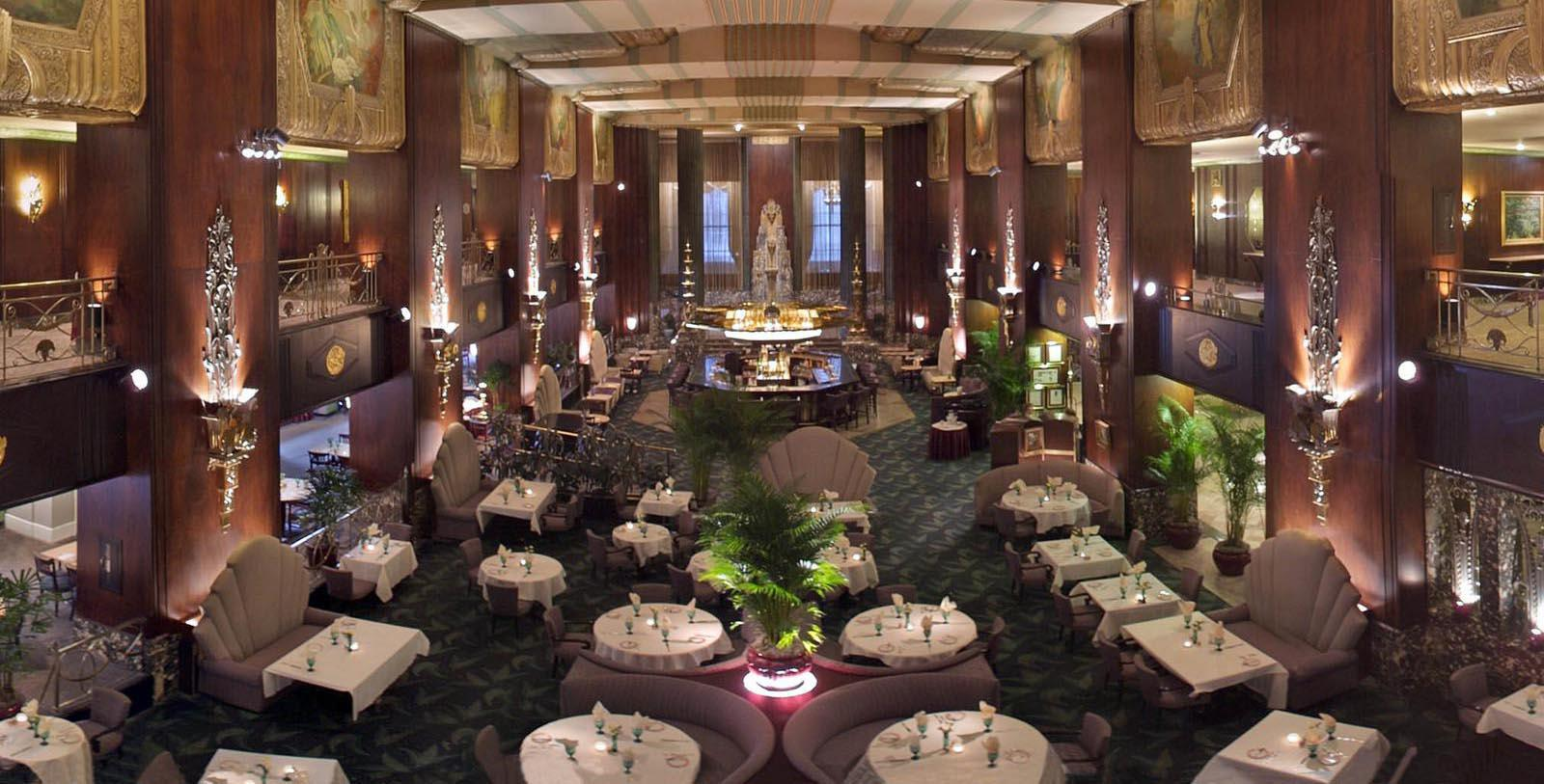 Image of Hall of Mirrors at the Hilton Cincinnati Netherland Plaza in Ohio.