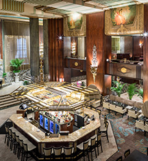 Dining at      Hilton Cincinnati Netherland Plaza  in Cincinnati