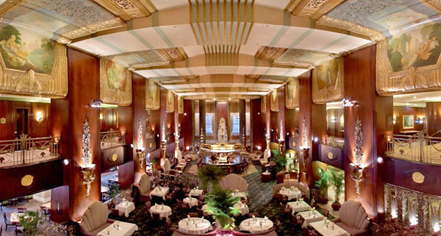 Dining At Hilton Cincinnati Netherland Plaza In