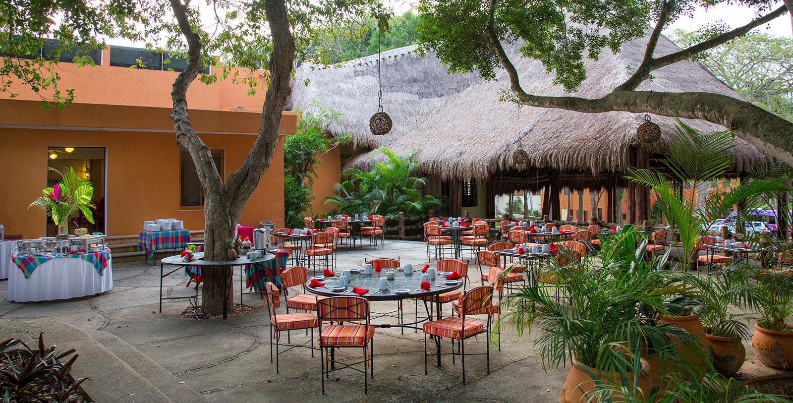 Image of Outdoor Dining, Hacienda Uxmal Plantation & Museum, Member of Historic Hotels Worldwide, Dining