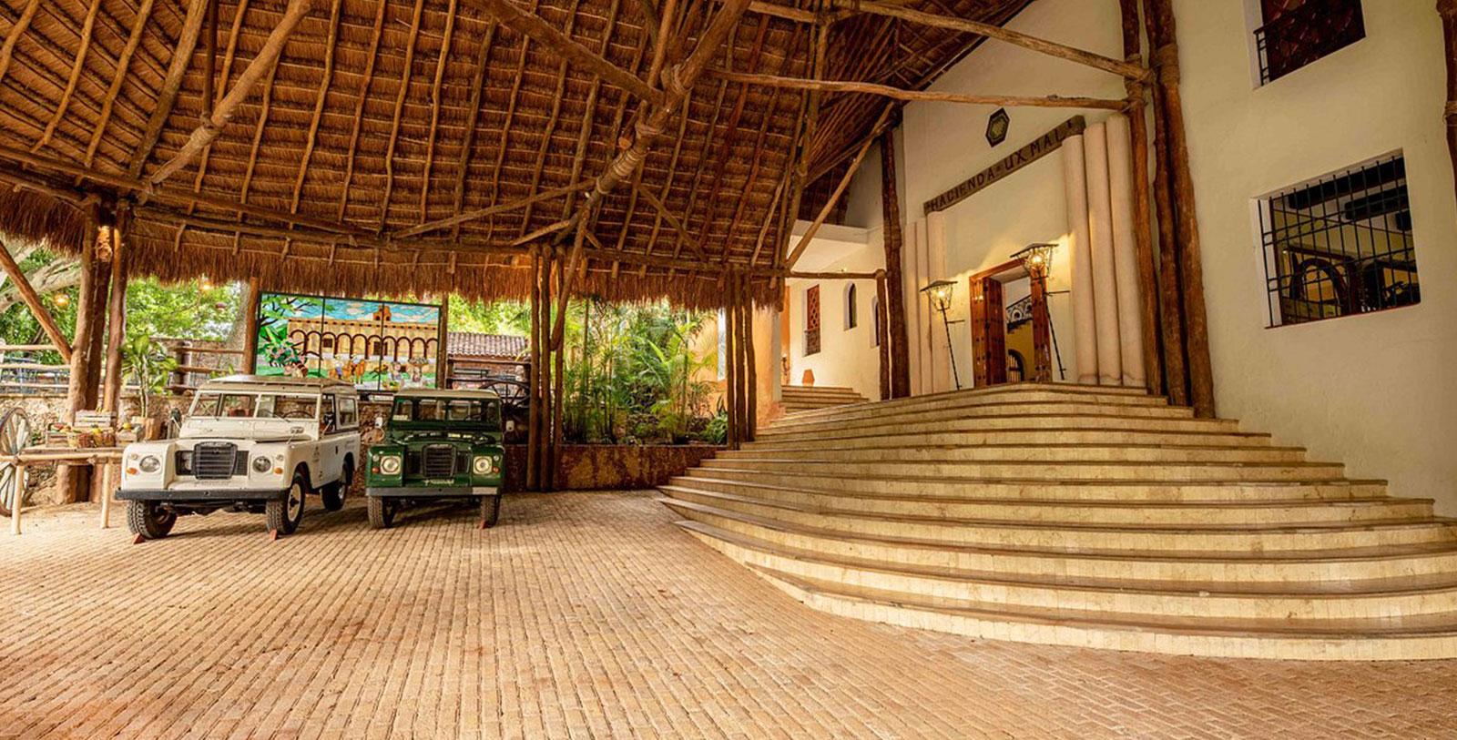 Image of Hotel Exterior Entrance, Hacienda Uxmal Plantation & Museum, Member of Historic Hotels Worldwide, Hot Deals