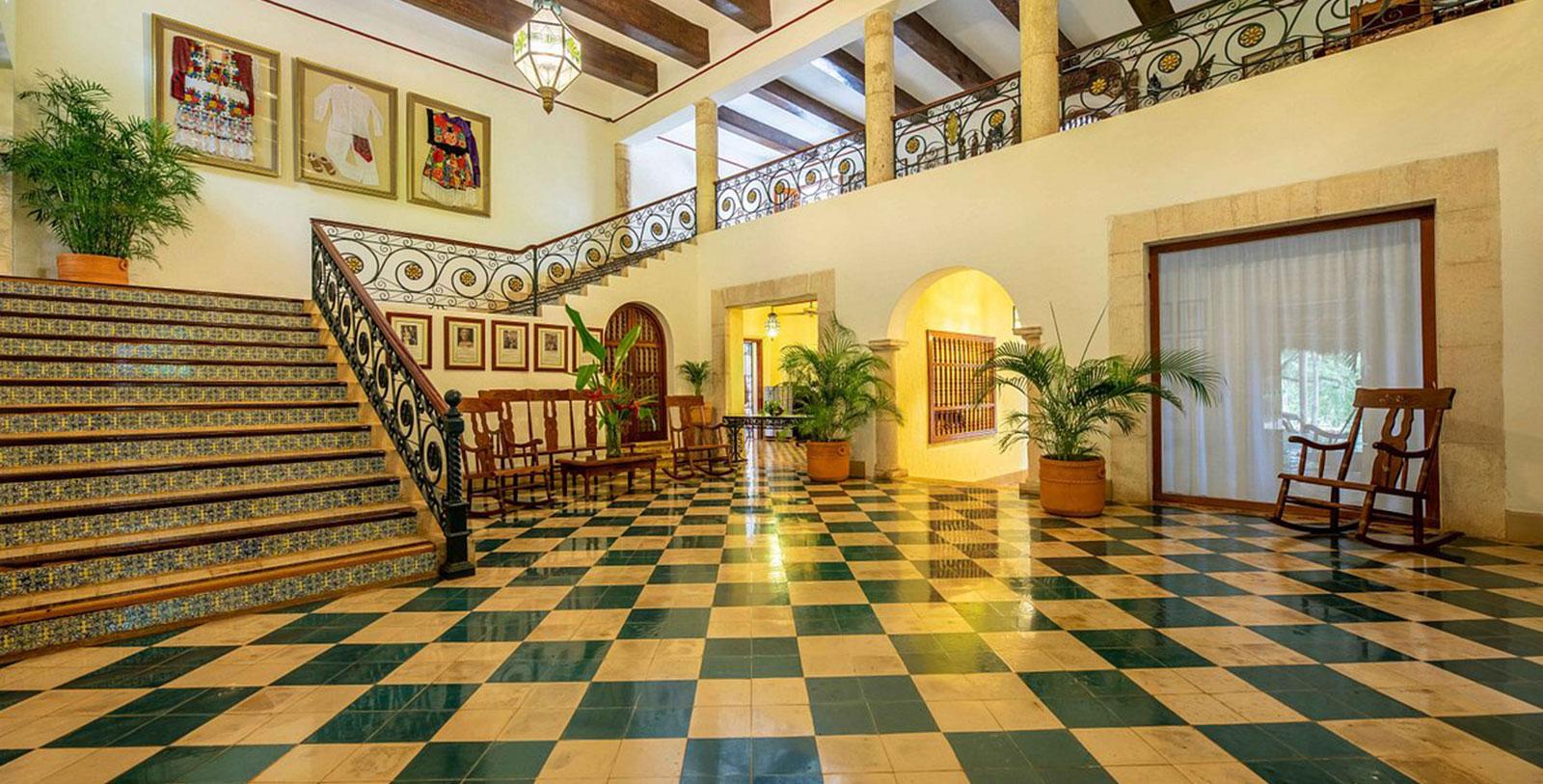 Image of Interior Lobby, Hacienda Uxmal Plantation & Museum, Member of Historic Hotels Worldwide, Overview