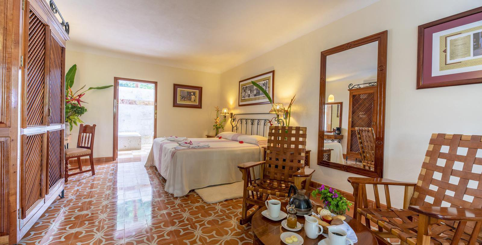 Image of Guestroom Interior, Hacienda Uxmal Plantation & Museum, Member of Historic Hotels Worldwide, Location Map