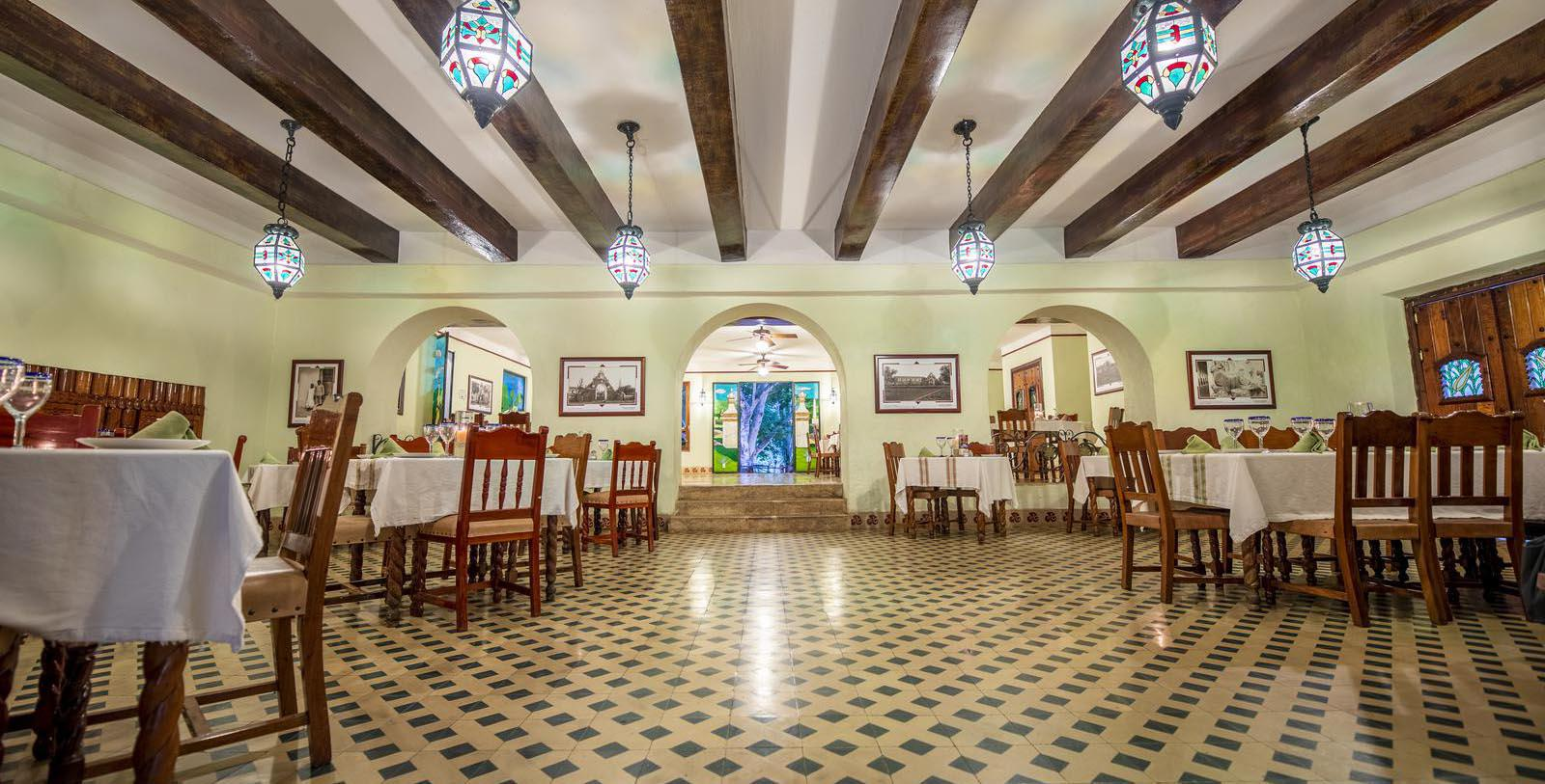Image of Restaurant of the Hacienda Uxmal Plantation & Museum in Uxmal, Yucatan, Mexico