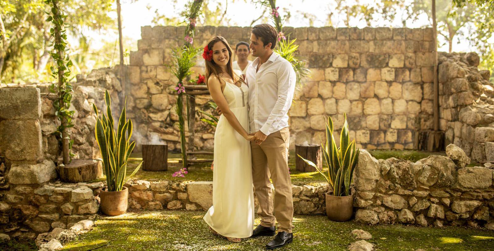 Image of Wedding Couple, Hacienda Uxmal Plantation & Museum, Member of Historic Hotels Worldwide, Experience