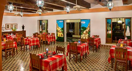Dining at      Hacienda Uxmal Plantation & Museum  in Uxmal