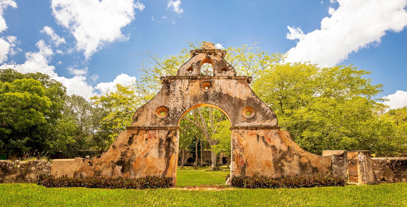 Image of Mayan Ruin near Hotel, Hacienda Uxmal Plantation & Museum, Member of Historic Hotels Worldwide, History