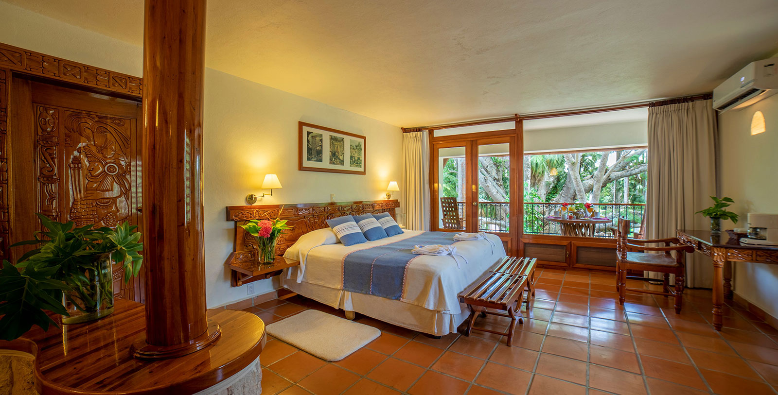 Image of Single Guestroom Mayaland Hotel & Bungalows,1923, Member of Historic Hotels Worldwide, in Chichen Itza, Mexico, Accommodations
