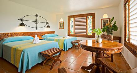 Accommodations:      Mayaland Hotel & Bungalows  in Chichen Itza