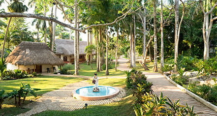 Spa:      Mayaland Hotel & Bungalows  in Chichen Itza