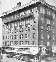 History:      The Ashton Hotel  in Fort Worth