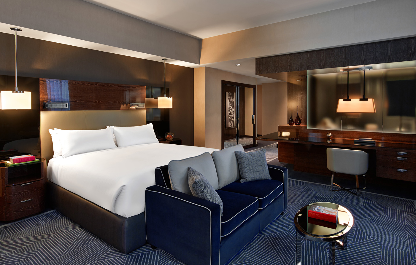 Accommodations:      The Joule  in Dallas