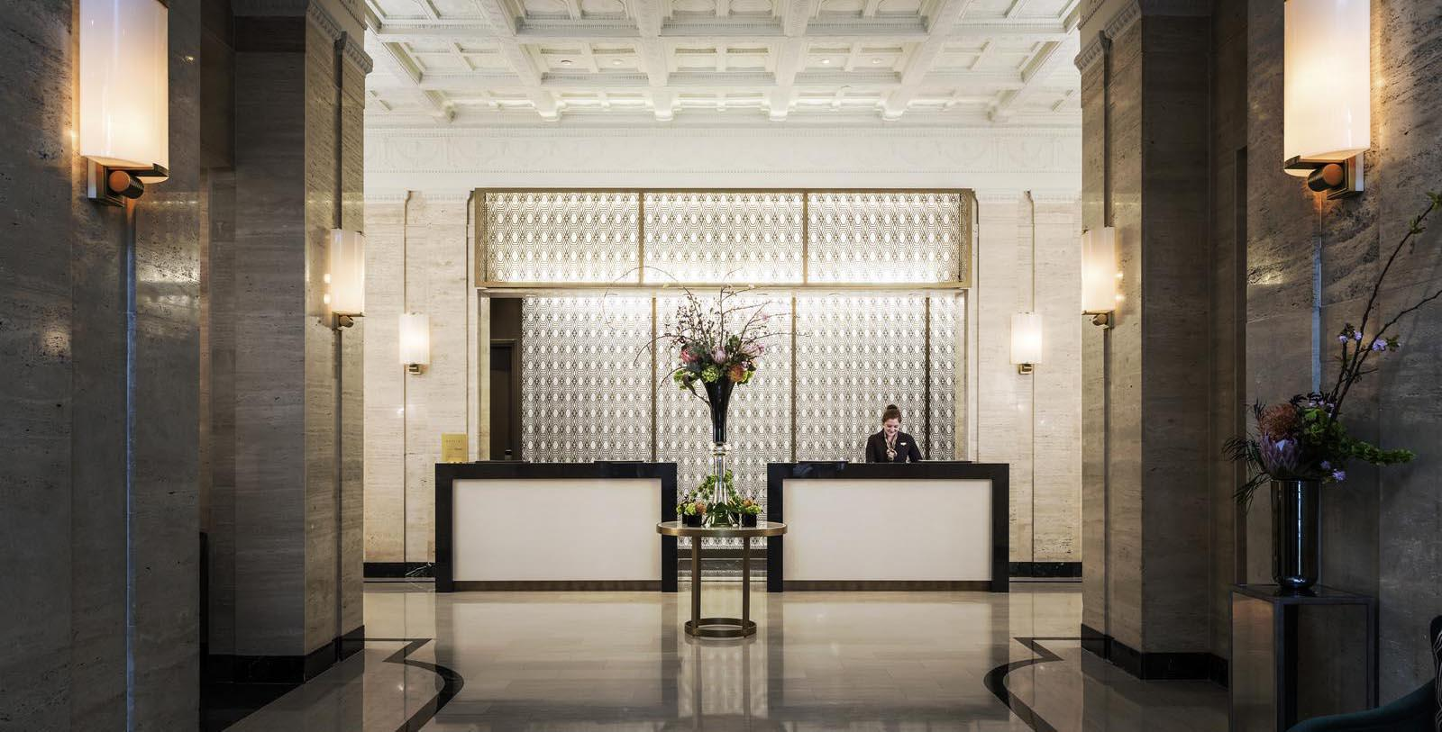 Image of Lobby Area Sofitel Washington DC Lafayette Square, 1927, Member of Historic Hotels of America, Washington, DC, Discover