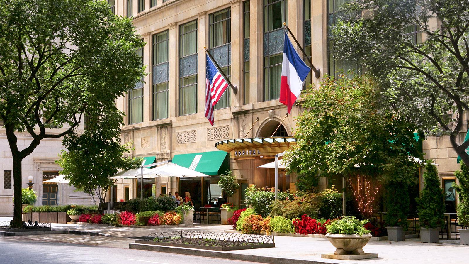 Image of Entrance Sofitel Washington DC Lafayette Square, 1927, Member of Historic Hotels of America, in Washington DC, Overview
