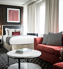 Accommodations:      Sofitel Washington DC Lafayette Square  in Washington