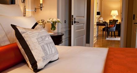 Accommodations:      The Jefferson, Washington, DC  in Washington