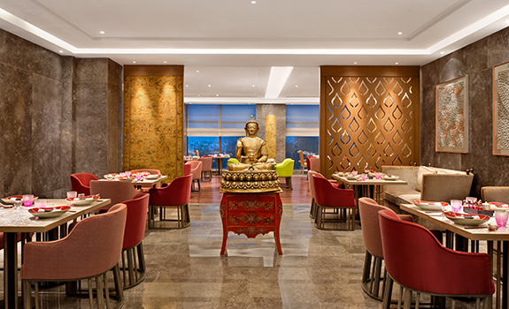The Leela Ambience Convention Hotel New Delhi  - Dining