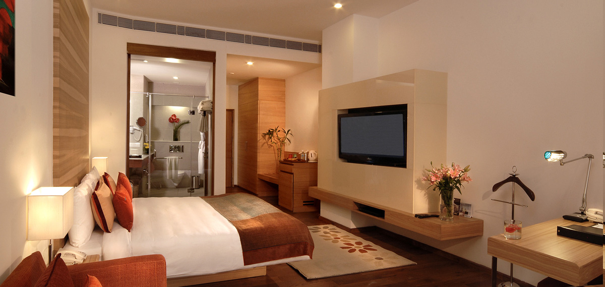 Accommodations:      Fortune Select Global  in Gurgaon