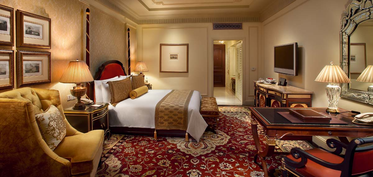 Accommodations:      The Leela Palace New Delhi  in New Delhi