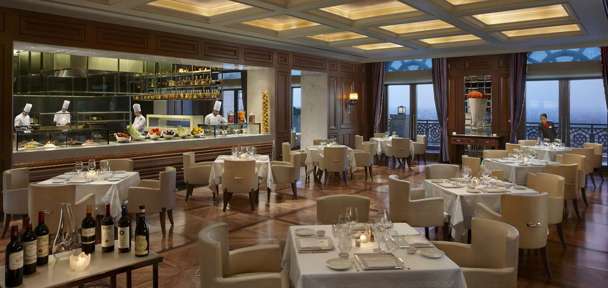 Dining:      The Leela Palace New Delhi  in New Delhi